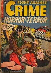 Fight Against Crime #20 Photocopy Comic Book