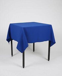 Carre-de-table-cloth-NAPPE-table-de-couvrir-100-polyester-lavable