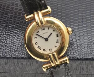 Cartier-Colisee-original-18k-gold-lady-watch-new-pristine-unworn