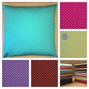 Polka dot large floor cushion cover 90 cm or 100 cm square for 100 floors floor 90