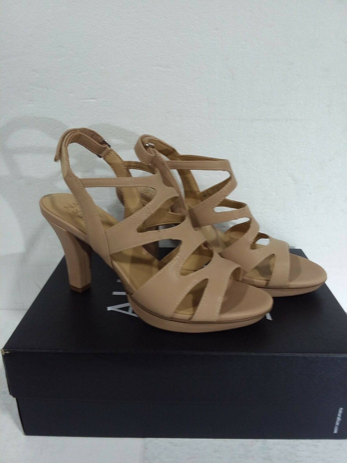 Naturalizer Women's Heels Dianna Taupe Smooth Size 8M