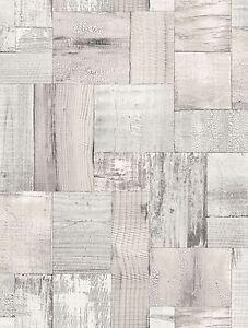 Essener-Tapete-Textura-2050-4-Mosaico-Madera-viejo-roble-Tablon-de-madera