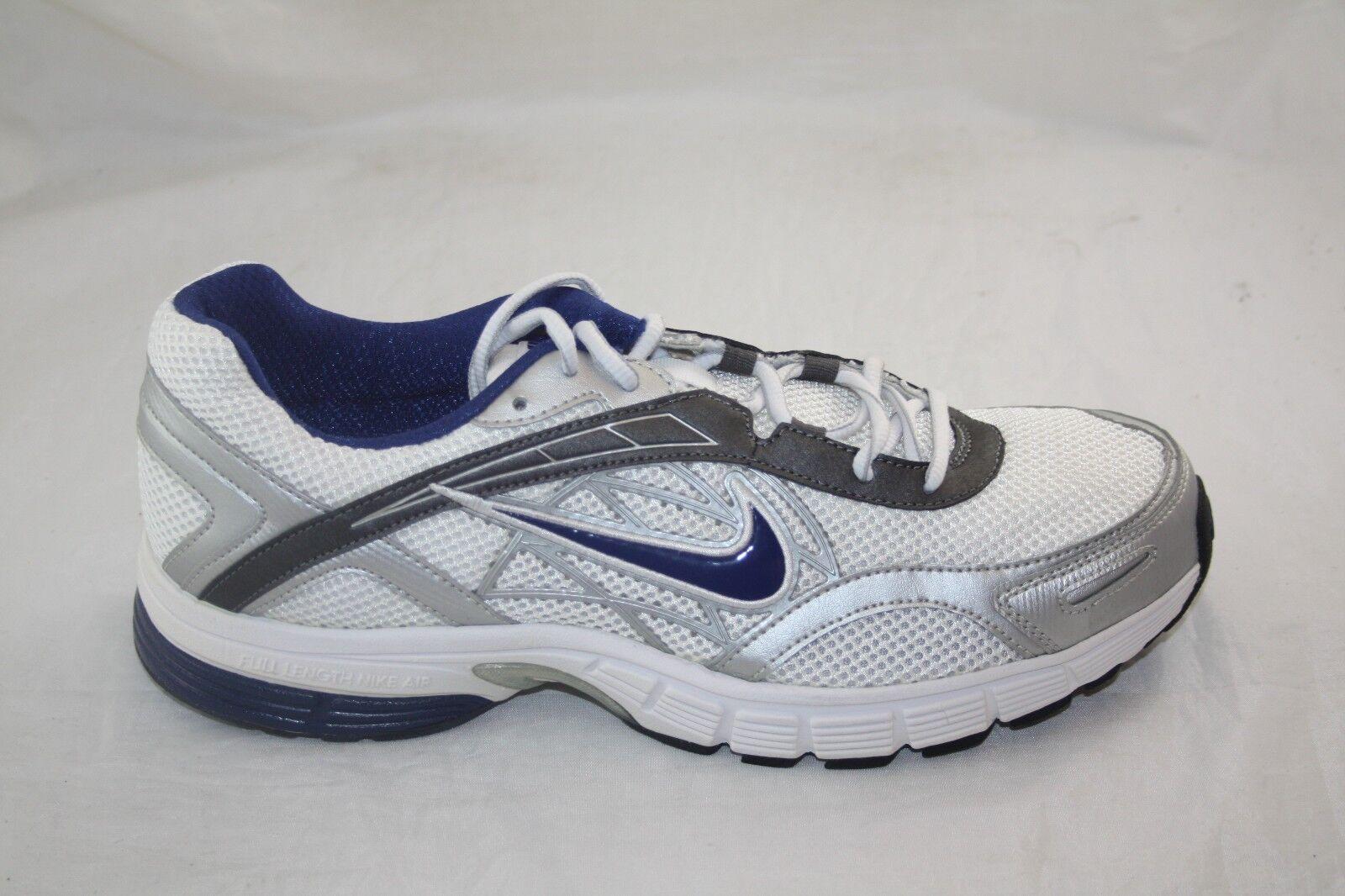 Los hombres de Nike Air alasis   Deep 4 MSL 432156-101 Blanco Deep  Royal metallc gris oscuro 92e6f6