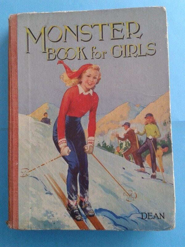 Monster Book for Girls - Dean & Son, LTD.
