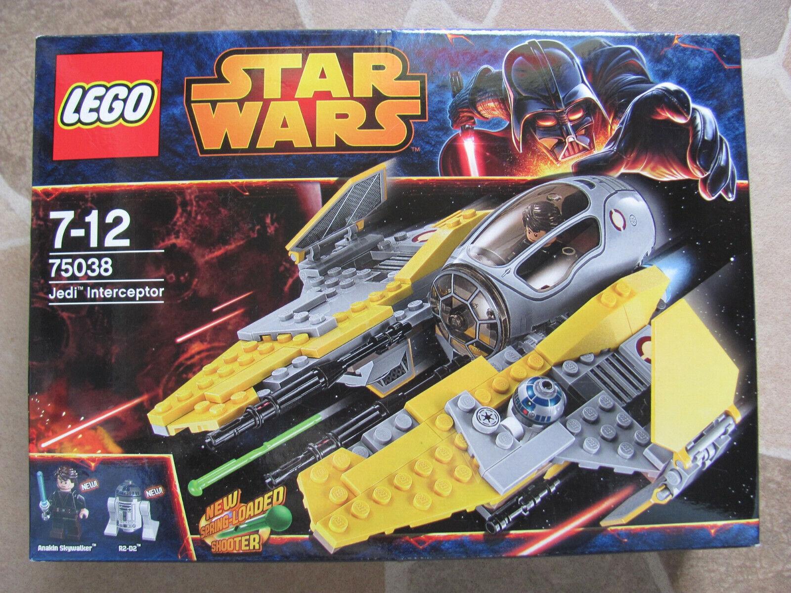 LEGO estrella guerras 75038 Jedi Interceptor NUOVO &  OVP     si affrettò a vedere