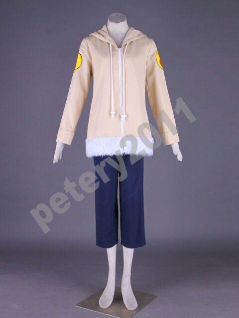 Naruto Anime Cosplay Hyuga Hinata Children Costume Halloween Clothes