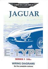 wiring diagram jaguar series 1 e type 3 8 jaguar exploded wiring diagram book 9190
