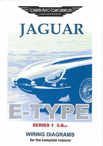 e type series 1 wiring diagram e image wiring diagram series 1 e type 3 8 jaguar exploded wiring diagram book 9190 on e type