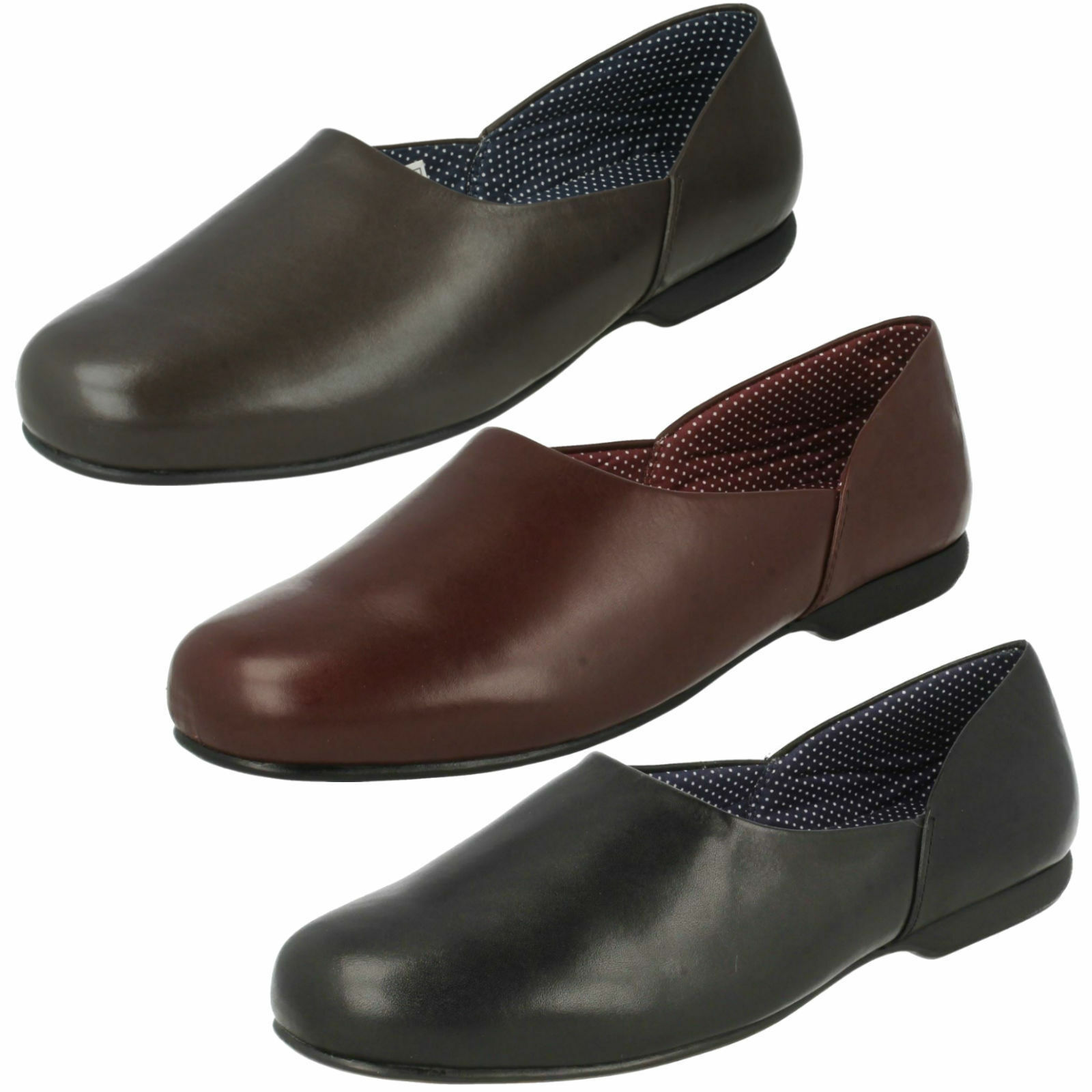 df78323c Para hombres Clarks Resbalón En Caliente Suela Dura Interior Zapatillas  Harston Lounge Zapatos Cuero nsfzqp2772-Zapatillas de andar por casa