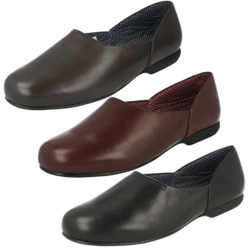 Pelle Clarks Solo Scarpe In Caldo On Slip Uomo Pantofole Da Harston Indoor Dura WnSPSqXU