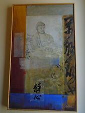Li Leger original painting, Under the Bodhi Tree I