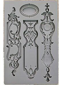 Escutcheons-1-Art-Decor-Silicon-Mould-Mold-Soap-Food-Chocolate-Paper-amp-Clay