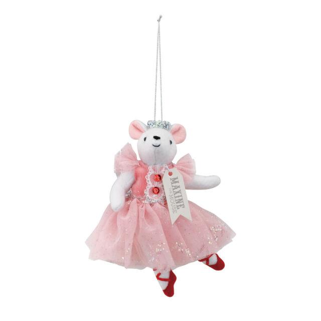 Maxine The Mouse Clara Ballerina Pink 6 x 6 Felt Fabric ...