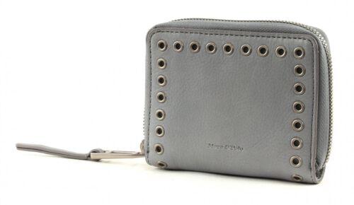 Marc O/'Polo Bourse Veg 2 Zip Wallet M Blue