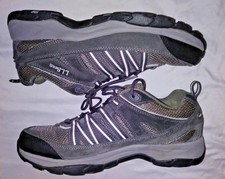 Ll Bean para hombre Talla 13M zapatilla de deporte para excursionismo al aire libre caminar gris