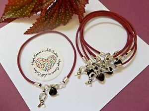 6 Ct Multiple Myeloma Cancer Awareness Burgundy 039