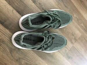 Adidas-Originals-Swift-Run-CG6167-Mens-Size-10-5-Trainers-Green-Gym-Shoes