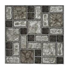 8 Boxes Of B Q Self Adhesive Vinyl Floor Tiles 88 Tiles Total Slate