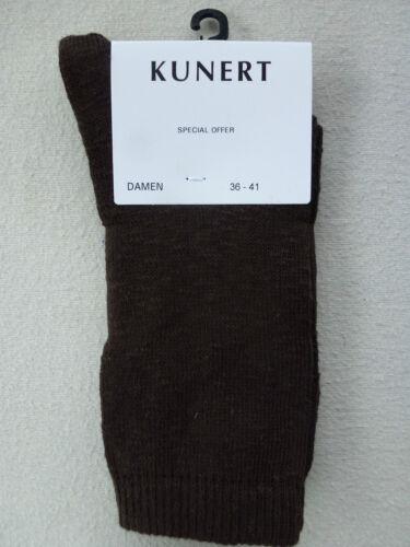 Kunert Calze da Donna 80 /% COTONE chiné vantaggio di prezzo TG 36-41 98