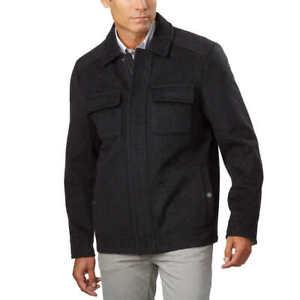 NEW-Pendleton-Men-039-s-Waterproof-Wool-Blend-Coat-Full-Zip-Jacket-size-large