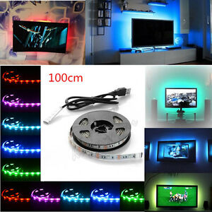Lighting UK Hot LED TV USB Backlight Kit Computer RGB LED Light