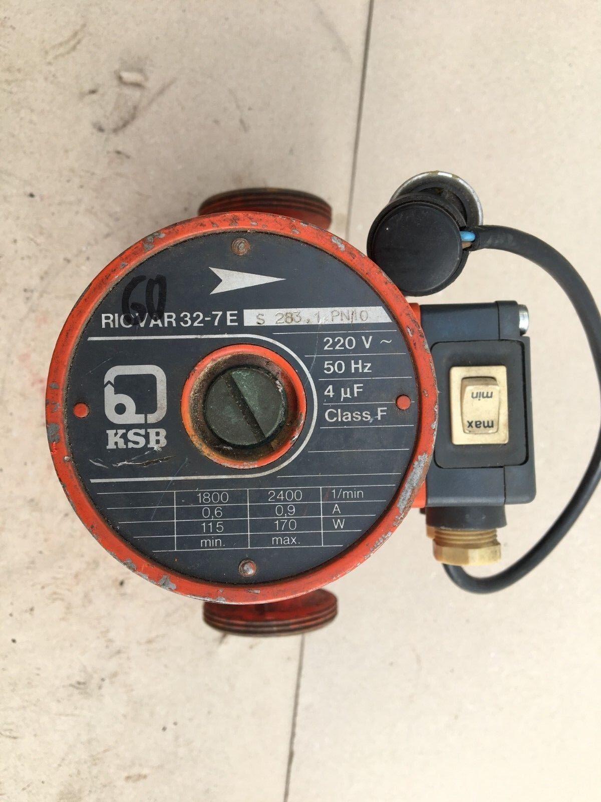 KSB Riovar 32-7 32-7 32-7 E Heizungspumpe / Pumpe 0eb538