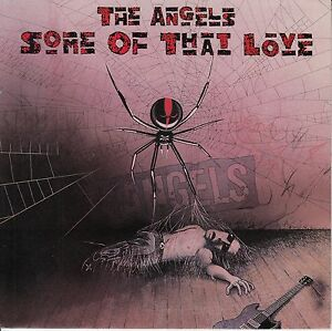 THE-ANGELS-Some-Of-That-Love-PICTURE-SLEEVE-7-034-45-record-juke-box-strip-RARE