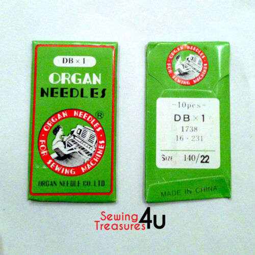 All Sizes Available Industrial Sewing Machines ORGAN NEEDLES DBX1