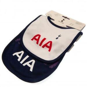 Tottenham Hotspur Fc Spurs Football Official 2 Pack Baby Bibs Dribbler Ebay