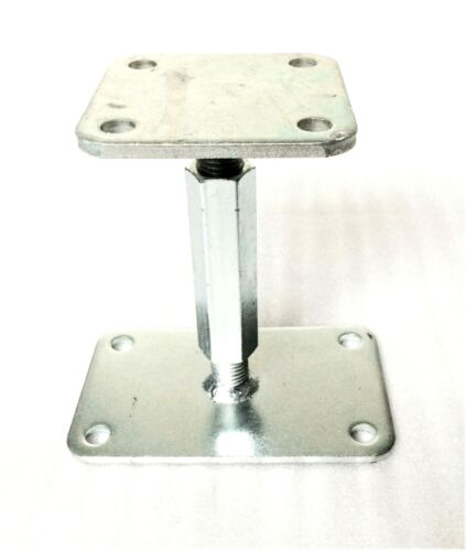 MONTANTE Supporto regolabile in altezza altezza 130-200 filettatura m20 stützenfuss pfostenfuss