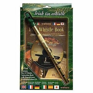The-Irish-Tin-Penny-Whistle-Learn-How-To-Play-Includes-Whistle-Music-Book-amp-CD