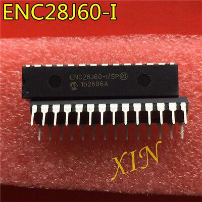 5PCS  ENC28J60 ENC28J60-I//SP  DIP   NEW