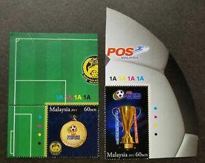 SJ-AFF-Suzuki-Cup-2010-Champion-Malaysia-2011-Football-Games-stamp-plate-MNH