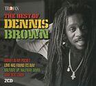 Dennis Brown Best of 2 X CD Trojan Reggae