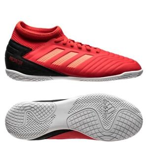 57c89d744 Details about adidas Predator 19.3 Tango IN Indoor 2018 Soccer Shoes Kids  Youth Red Black