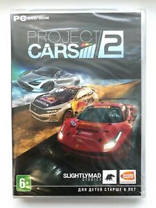 Project Cars 2 Ii Dvd Case Russian Cover Brand New Factory Sealed Ebay