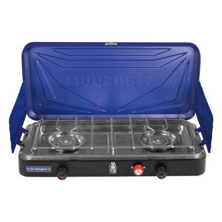 OUTFITTER SERIES  2-BURNER PROPANE STOVE - blueE W  70% off cheap