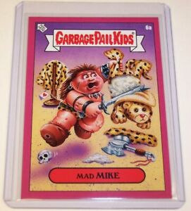 Garbage-Pail-Kids-2019-Valentine-039-s-Day-is-Gross-PINK-Mad-MIKE-6a-GPK