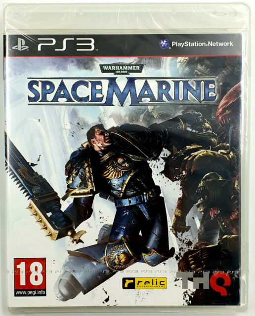 Warhammer 40.000 40K Space Marine - Playstation 3 / PS3 - Neuf Sealed - PAL FR