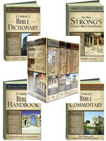 Nelson's Compact Series Bible Dictionary,handbook,commentary,concordance Box Set