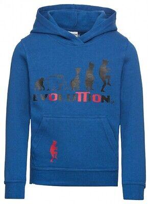 Attivo Bambini Hoodie Con Cappuccio Pullover Evolution By Otto Waalkes-r Evolution By Otto Waalkes It-it Mostra Il Titolo Originale