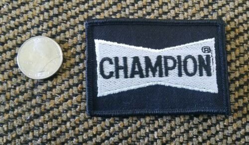 Vintage CHAMPION  SPARK PLUGS Hot Rod Greaser DragStrip RatFink collectors PATCH