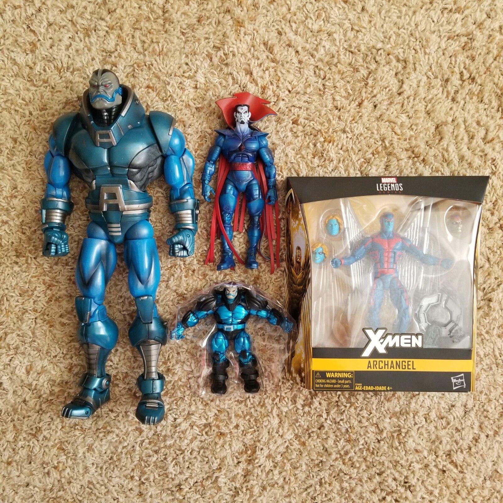 Marvel Legends lot of 4  Apocalypse BAF, Mr. Sinister, Arch-Angel, Apocalypse