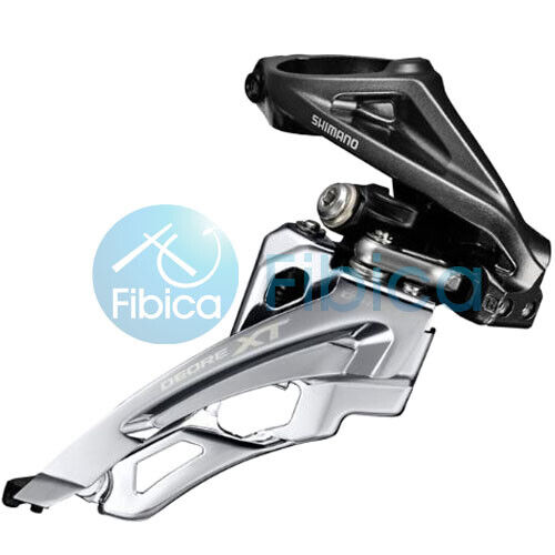 New Shimano Deore XT FD M8000 H Side Swing High Clamp 3x11s Front Derailleur