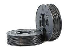PLA 2,85mm black ca. RAL 9017 0,75kg - 3D Filament Supplies