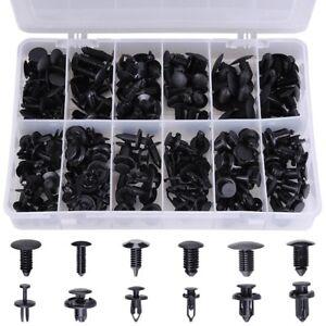 192pcs Auto Push Retainer Assortment Kit Car Nylon Shield Pin Rivet Fasteners