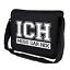 ICH-MUSS-GAR-NIX-Spruch-Sprueche-Comedy-Lustig-Motiv-Umhaengetasche-Messenger-Bag