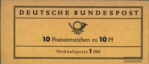BRD-BR-Deutschland-MH6d-kompl-Ausg-postfrisch-1961-Heuss
