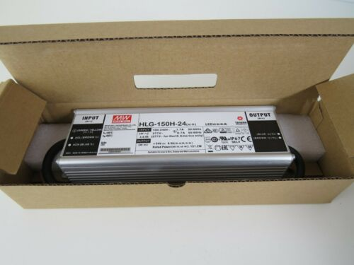 New MEAN WELL HLG-150H-24 LED DRIVER POWER SUPPLY Vat incl