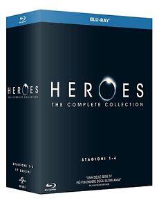 Heroes - La Serie Completa - Stagioni 1-4 Cofanetto 17 Blu Ray - Nuovo Sigillato